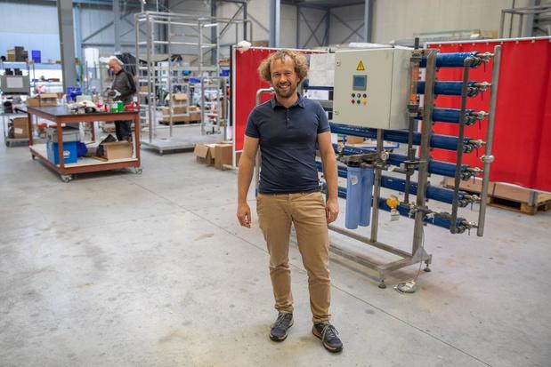 Tielts bedrijf wil gerecycleerd water verkopen aan bedrijven