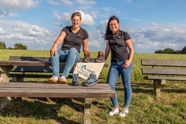 Collega's Sint-Andriesziekenhuis uit Tielt nemen deel aan 100 km Covid Challenge