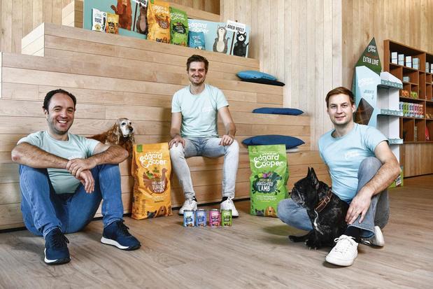 Edgard & Cooper sort de sa niche avec une nourriture saine pour les animaux