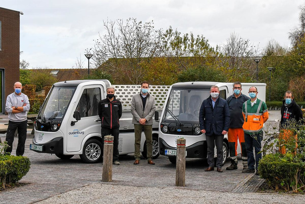 Oudenburg test komende weken elektrische bestelwagens