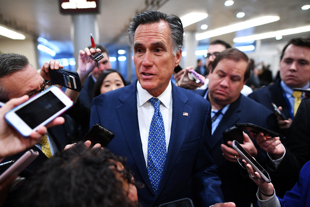 Mitt Romney: 'Als Trump presidentskandidaat is, wint hij in 2024 Republikeinse nominatie'