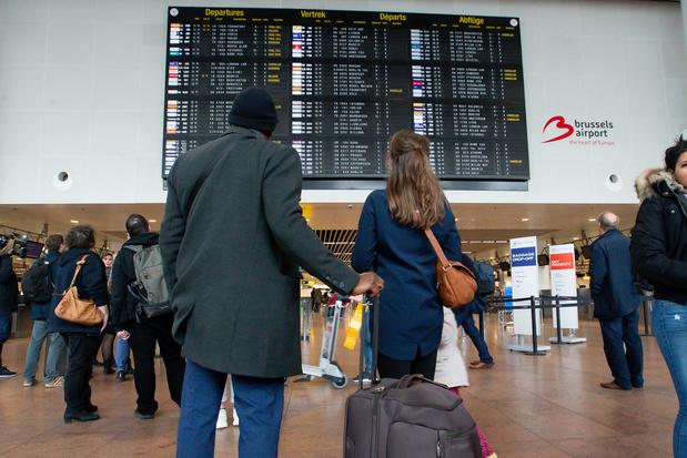 Stiptheidsactie kan reizigers hinderen op Brussels Airport