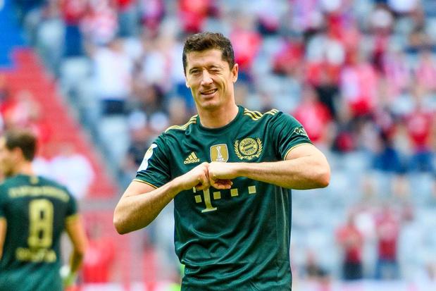 Robert Lewandowski krijgt Europese Gouden Schoen: 'Ik concurreer altijd met mezelf'