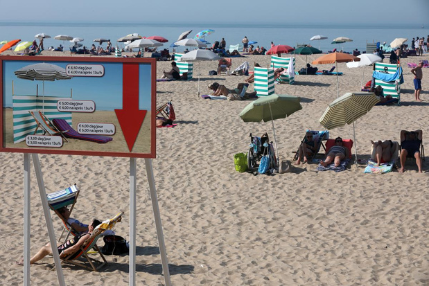 Oostende is blij met mooie nazomer