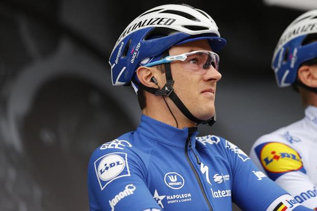 Yves Lampaert blijft twee seizoenen langer bij Deceuninck-Quick.Step