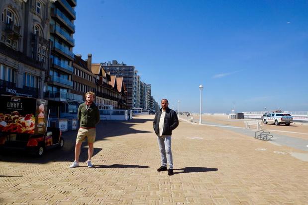 Handelaars op Nieuwpoortse zeedijk niet te spreken over fietsverbod