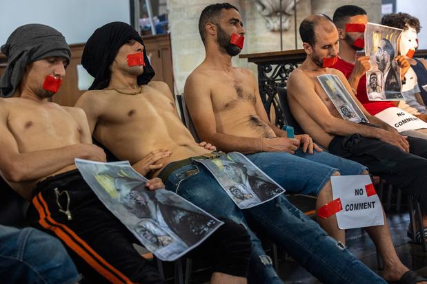 Europese vakbondsvereniging verhoogt druk op Mahdi: 'Geef hongerstakers werkvergunning'