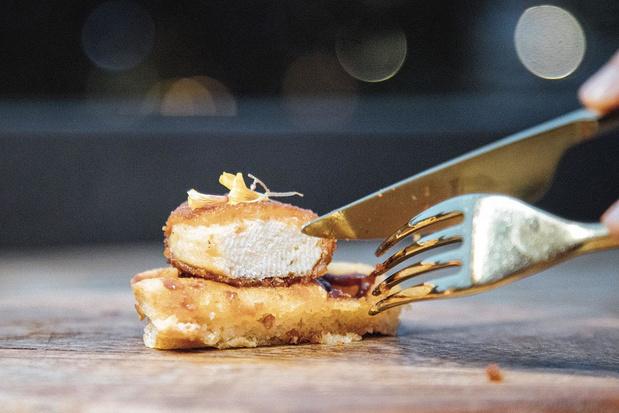 Du poulet de synthèse au menu d'un restaurant