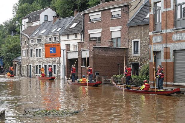 Rentrée parlementaire sous le signe des inondations en Wallonie