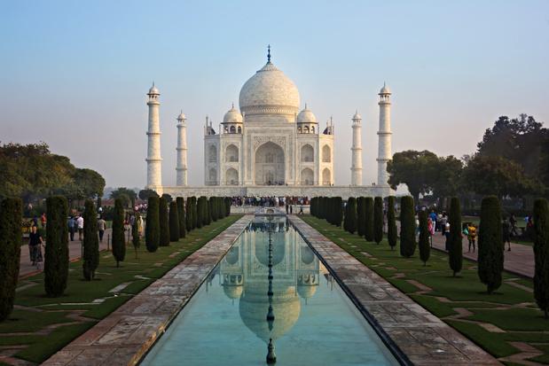 India sluit Taj Mahal