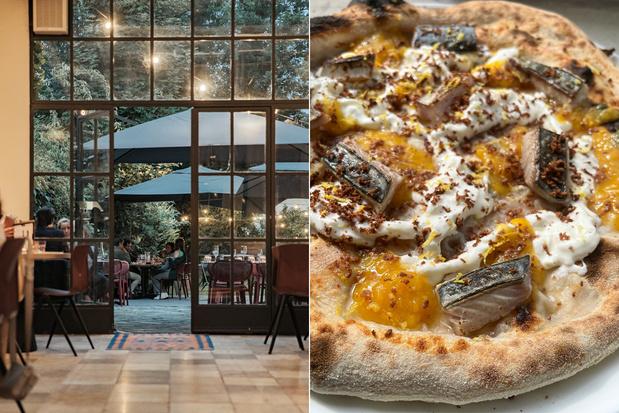 Fenomenale zuurdesempizza uit de houtoven bij Guzzi in Leuven