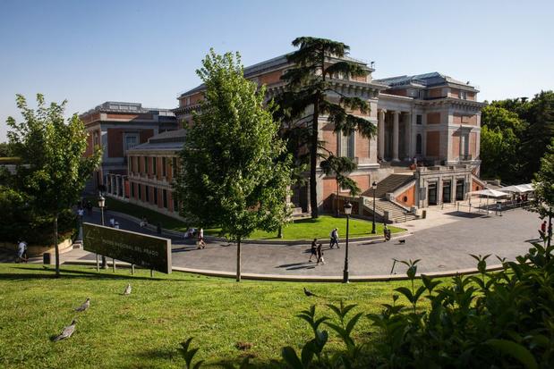 El Retiro en Paseo del Prado in Madrid op Werelderfgoedlijst Unesco