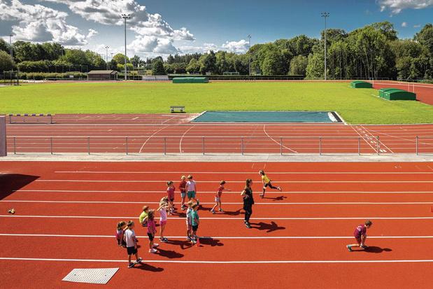 Toujours plus d'espaces pour le sport