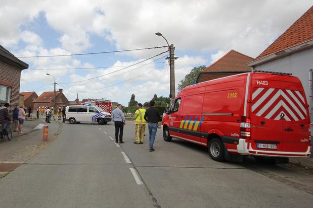 Bom ontdekt in de Steenbeekstraat in Jonkershove