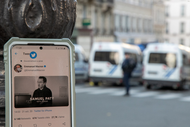 Onthoofde leerkracht in Parijs: vier scholieren opgepakt