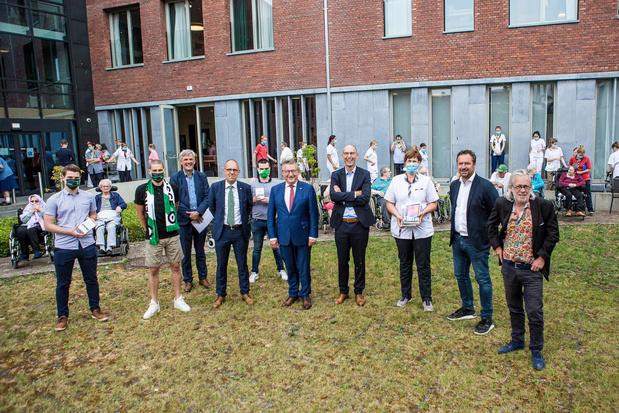 Cercle Brugge steunt Brugse zorgsector én kondigt contractverlenging Miguel Van Damme aan
