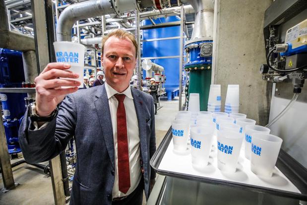 Water uit kanaal wordt omgezet in drinkwater in Oostende