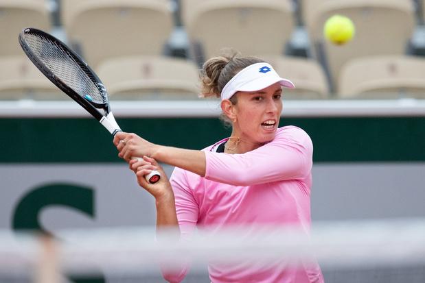 Elise Mertens bereikt derde ronde op Rolland Garros na winst tegen Kanepi