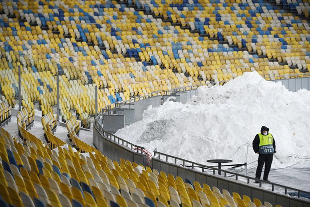 Dynamo Kiev laat 10.000 supporters binnen voor match tegen Club Brugge in Europa League