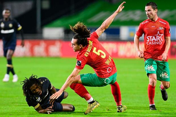 KVO speelt gelijk in spannende pot tegen Antwerp: 1-1
