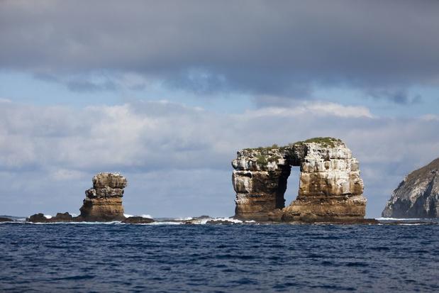 Beroemde Darwin's Arch bij de Galapagoseilanden ingestort