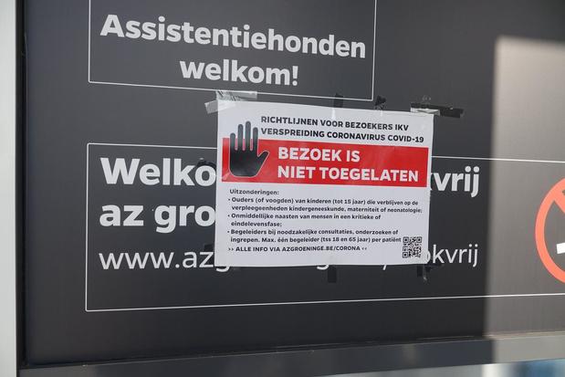 """Acht medewerkers en vier patiënten positief op campus Reepkaai: """"Enkel milde symptomen"""""""