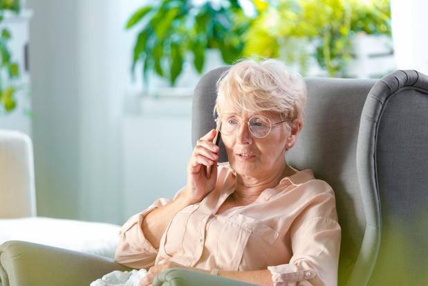 Opvallend meer 60-plussers contacteren Tele-Onthaal