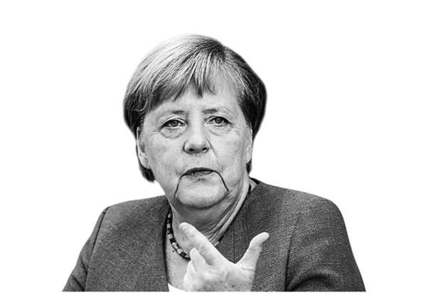 Angela Merkel - Boos op Poetin