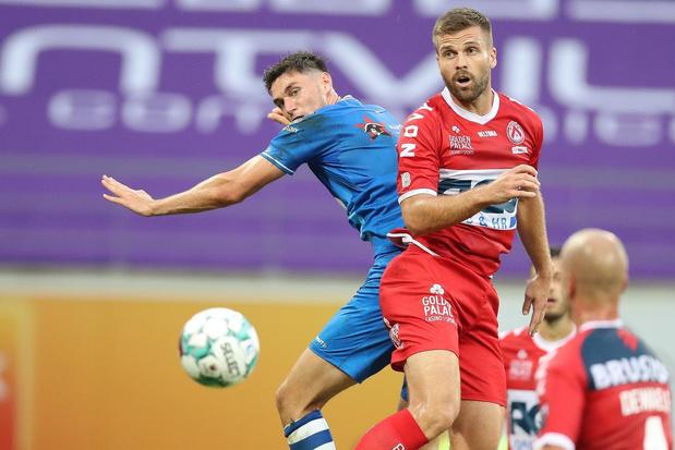 KV Kortrijk wint verrassend van titelkandidaat AA Gent