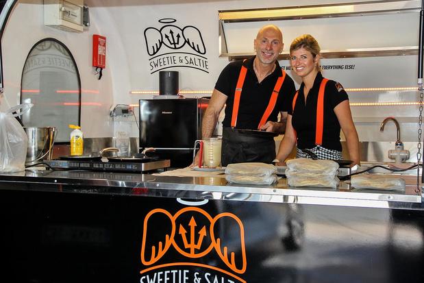 Artiest bakt pannenkoeken: Rudi De Dejonghe levert met Sweetie & Saltie aan huis