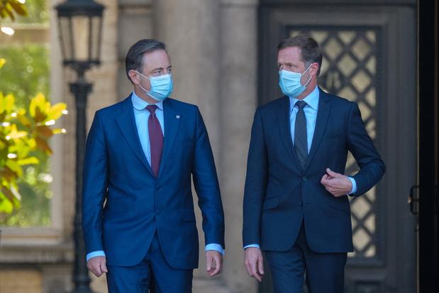 De Wever en Magnette bereiden vergadering met groenen voor