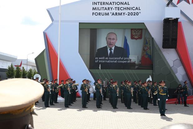 'Rusland en Servië houden militaire oefeningen in Wit-Rusland'