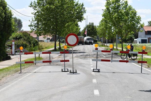 Rotonde Kemmelseweg in Ieper vijf dagen afgesloten