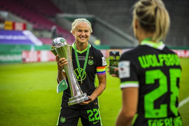 Pernille Harder, de bestbetaalde voetbalster ooit