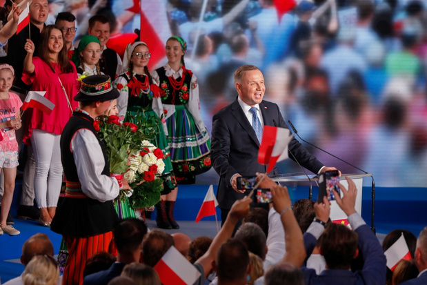 Poolse presidentsverkiezingen naar tweede ronde