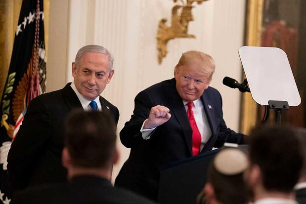'Israël en Trump gooien het op een akkoordje met zichzelf'