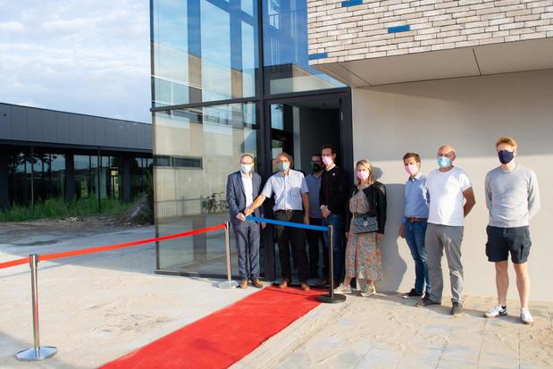Nieuw schoolgebouw biedt ruimte voor Academie muziek en woord, gemeente Wevelgem en SPWE