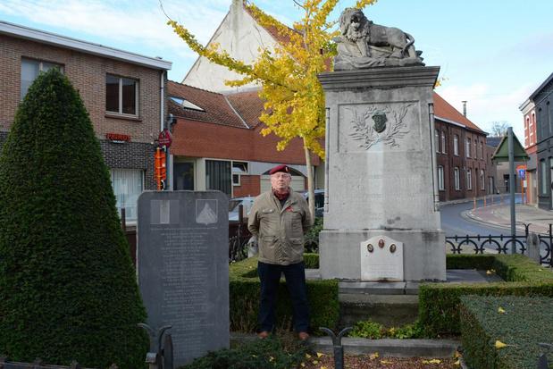 Stille 11 novemberherdenking in Moorsele en Wevelgem