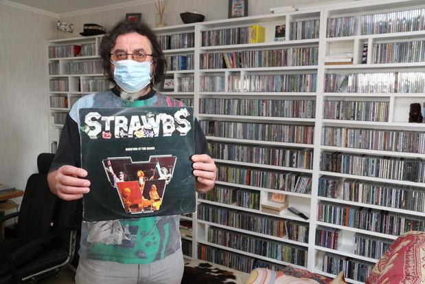 """Danny Roose (59) verzamelt cd's en lp's: """"Mijn muziekcarrière was van heel korte duur"""""""