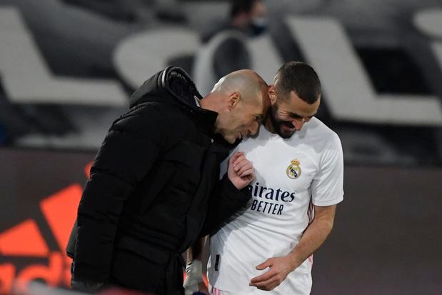 Zinédine Zidane looft Karim Benzema: 'Beste Franse spits aller tijden'