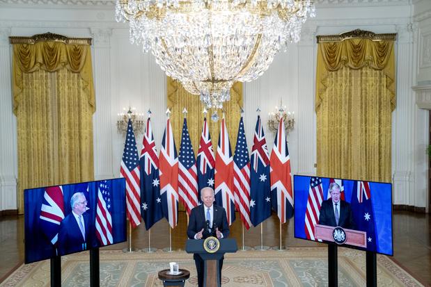 EU 'niet op de hoogte gebracht' van nieuwe militaire alliantie tussen VS, VK en Australië