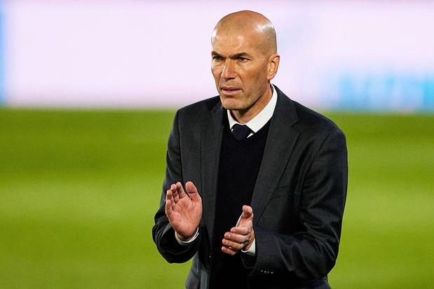 Waar ligt de toekomst van Realcoach Zinédine Zidane?