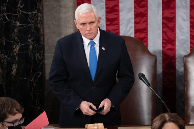 Vicepresident Pence gaat geen beroep doen op 25ste amendement