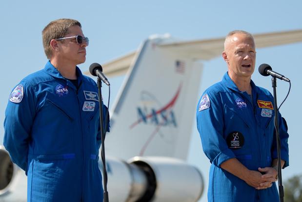 'De eerste bemande vlucht van SpaceX is zowel historisch als strategisch heel belangrijk'