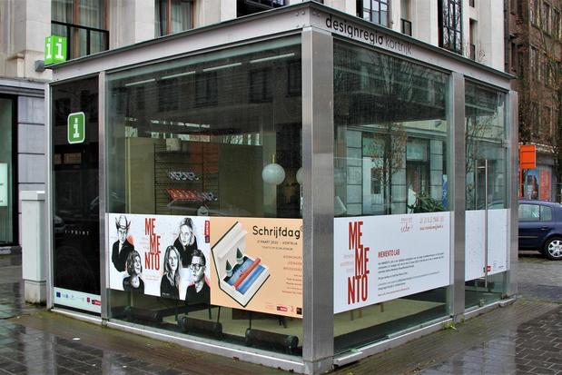 Kortrijkse kiosk wordt kantoor voor jonge woordkunstenaars