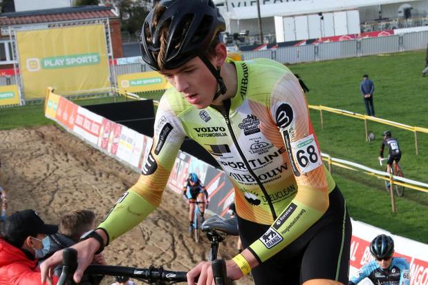 Junior Brent Baert hoopt zo snel mogelijk opnieuw te kunnen crossen