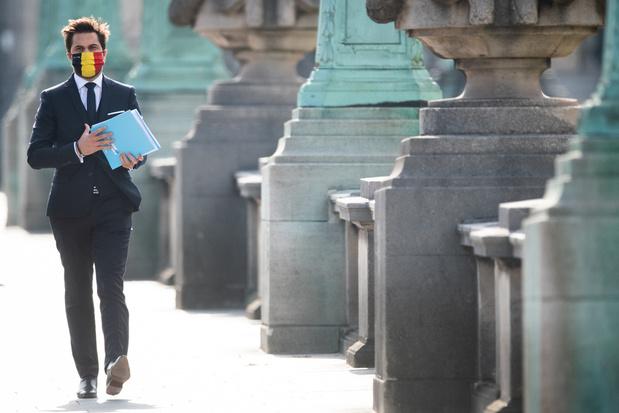'De winnaar van deze week is nog maar eens MR-voorzitter Georges-Louis Bouchez'