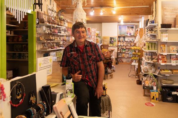 Mark De Keyser neemt afscheid van Oxfam Wereldwinkel in Tielt