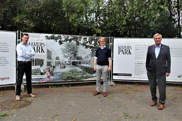 Openluchttentoonstelling brengt duidelijk beeld over toekomstig Keizerspark in Wingene
