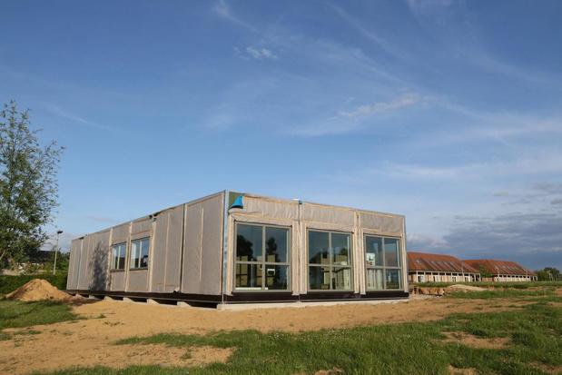 Containerbouw is nu een zegen voor Peace Village